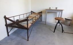 Dark old dutch jail Stock Photo