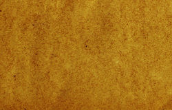 Dark old paper. Texture of old dark yellow paper Stock Photography