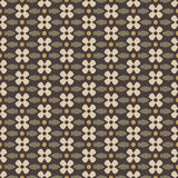 Dark old pattern. Seamless pattern with dark background and decorate elements Royalty Free Stock Photography