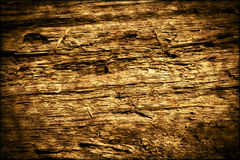 Dark Old Rotten Wood Background Texture. Old dark rotten wood background texture pattern Stock Images