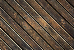 Dark old wood Stock Images