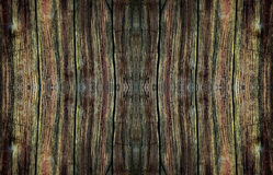 Dark old wood textured. Dark old wood textured for the nature background Stock Photography