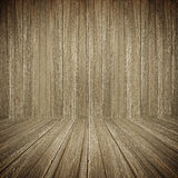 Dark old wooden room background. Dark old wooden room abstract background Stock Photo
