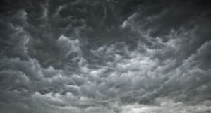 Dark Ominous Clouds Stock Photography