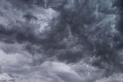 Dark Ominous Clouds Royalty Free Stock Photo