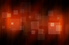 Dark orange background with square Royalty Free Stock Photography