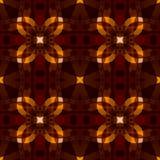 Dark orange brown modern abstract texture. Detailed background illustration. Textile print seamless tile pattern. Home decor fabri Stock Photos