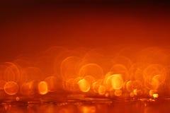 Dark orange circle background Stock Photos