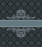 Dark ornamental seamless background. Pattern for wrap design Stock Photography