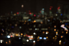 Dark and out of focus city background - London Royalty Free Stock Photography