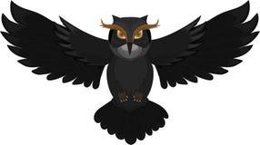 Dark Owl Royalty Free Stock Photos