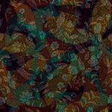 Dark Paisley seamless pattern. Original decorative backdrop, indian style Stock Photo