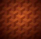 Dark Parquet 3d Seamless Floor Pattern Stock Image