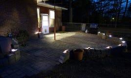 Dark patio Royalty Free Stock Images