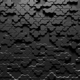 The dark pattern background and hexagons. The dark hexagons pattern background Royalty Free Stock Images