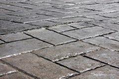 Dark pavement Royalty Free Stock Image
