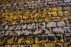 Dark pavement Royalty Free Stock Images