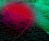 Dark PC Abstract Tech Background. Red Dark PC Abstract Tech Background Royalty Free Stock Photos