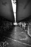 Dark pedestrian underpass Stock Photography