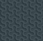 Dark perforated paper. Dark perforated paper with cut out effect. Abstract 3d seamless background. Vector EPS10 Royalty Free Stock Images
