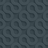 Dark perforated paper. Dark perforated paper with cut out effect. Abstract 3d seamless background. Vector EPS10 Royalty Free Stock Image