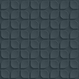 Dark perforated paper. Dark perforated paper with cut out effect. Abstract 3d seamless background. Vector EPS10 Stock Image