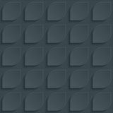 Dark perforated paper. Dark perforated paper with cut out effect. Abstract 3d seamless background. Vector EPS10 Royalty Free Stock Photos