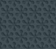 Dark perforated paper. Stock Images