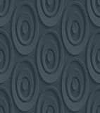 Dark perforated paper. Royalty Free Stock Photography