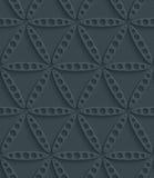 Dark perforated paper. Stock Photo