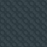 Dark perforated paper. Royalty Free Stock Image