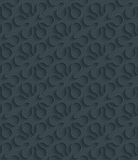 Dark perforated paper. Stock Photography