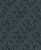 Dark perforated paper. Royalty Free Stock Photos