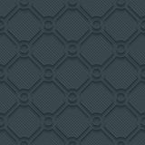 Dark perforated paper. Royalty Free Stock Images