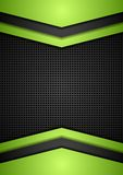 Dark perforated tech corporate background Stock Images