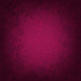 Dark Pink Background With Flowers Stock Images