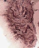 Dark pink enamel stock image