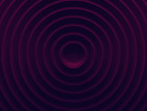 Dark pink radial abstract geometric Stock Photography