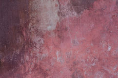 Dark pink wall plaster background texture Royalty Free Stock Photos