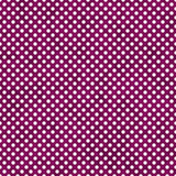 Dark Pink and White Small Polka Dots Pattern Repeat Background Royalty Free Stock Photography