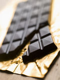 Dark, Plain, Chocolate Stock Photo