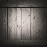 Dark planks or wall side of wooden box Stock Image