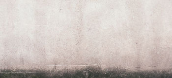 Dark plaster wall with dirty black scratched texture background. For banner Royalty Free Stock Images
