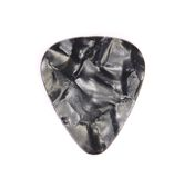 Dark plastic guitar plectrum Royalty Free Stock Image