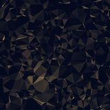 Dark Poly Triangle Background Pattern Vector Royalty Free Stock Photo