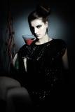 Dark portrait Royalty Free Stock Photography