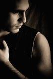Dark portrait Royalty Free Stock Photos
