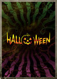 Dark Poster for Halloween stock illustration