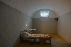 Dark prison cell Royalty Free Stock Images