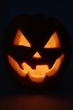 Dark Pumpkin Lantern Stock Photo